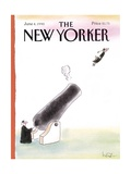 The New Yorker Cover - June 4, 1990 Giclee Print by Arnie Levin