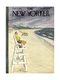 The New Yorker Cover - September 13, 1952 Giclee Print by Perry Barlow
