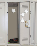 Star Peel & Stick Mirror (Small - 4 pieces) Wall Decal Wall Decal