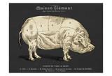 Coupe Du Porc Kunstdrucke von Tina Carlson