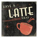 Milchkaffee Kunstdruck von Jace Grey