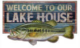 Welcome To Our Lake House Vintage Wood Sign Wood Sign