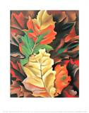 Autumn Leaves Print by Georgia O'Keeffe