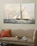 Cutter Yacht - 1854 Prints