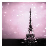 Hearts in Radiant Paris Prints by Taylor Greene