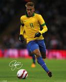 Neymar - Autograph Kunstdrucke