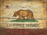 California Flag Vintage Wood Sign Wood Sign