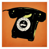 Tengerine Telephone Prints by Tina Carlson