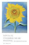 Sunflower 1985 Affiches par Georgia O'Keeffe