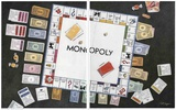 Monopoly Diptych Posters by Bet Borgeson