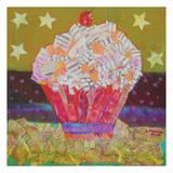 Congratulations Cupcake Poster by Albert Koetsier