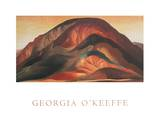 Rust Red Hills Art par Georgia O'Keeffe