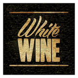White Wine B Prints by Jace Grey