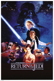 Star Wars Return Of The jedi Kunstdrucke