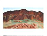 Purple Hills Ghost Ranch Posters by Georgia O'Keeffe