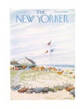 The New Yorker Cover - July 27, 1957 Giclee Print by Edna Eicke