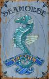 Seahorse Tavern Vintage Wood Sign Wood Sign