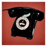 Red Telephone Posters by Tina Carlson