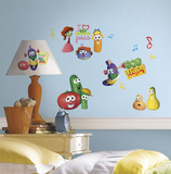 Veggie Tales Peel and Stick Wall Decal Wall Decal