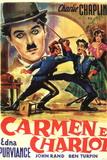 Burlesque on Carmen Movie Charlie Chaplin Prints