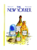 The New Yorker Cover - September 23, 1974 Premium Giclee Print by Jean-Claude Suares
