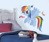 My Little Pony - Rainbow Dash Peel and Stick Giant Wall Decal Wall Decal