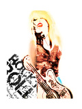 I Love Rock N' Roll Giclee Print by Nicole Quattrocki