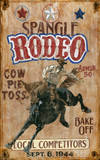 Spangle Rodeo Vintage Wood Sign Wood Sign