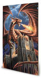 Anne Stokes - Dragon's Fury Wood Sign Znak drewniany
