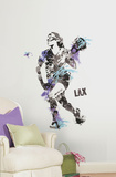 Women's Lacrosse Champion Peel and Stick Giant Wall Decal Wall Decal