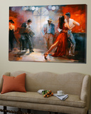 Tango Poster von Willem Haenraets