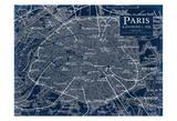 Environs Paris Print by Carole Stevens