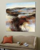 Purple Landscape II Print by  Boersma
