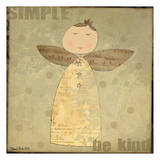 Simple Angel 5 Prints by Dan Dipaolo