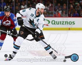 San Jose Sharks Joe Thornton 2013-14 Action Photo