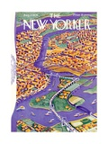 The New Yorker Cover - August 22, 1936 Regular Giclee Print by Ilonka Karasz