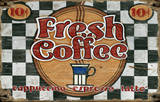 Fresh Coffee Vintage Wood Sign Wood Sign
