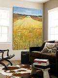 Sunny Day In The Fields Print by Jacques Clement