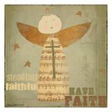 Faithful Angel 4 Posters by Carole Stevens