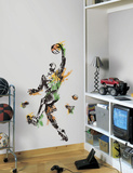 Men's Basketball Champion Peel and Stick Giant Wall Decal Wall Decal