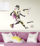 Women's Soccer Champion Peel and Stick Giant Wall Decal Wall Decal