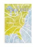 The New Yorker Cover - August 13, 1973 Regular Giclee Print by James Stevenson