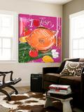 I Love Fish Art by El Van Leersum