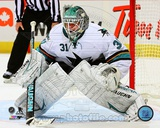 San Jose Sharks Antti Niemi 2013-14 Action Photo