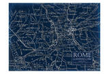Environs Rome Posters by Carole Stevens
