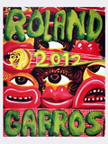 Roland Garros, 2012 Collectable Print by Herve Di Rosa