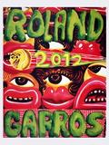 Roland Garros Prints by Herve Di Rosa