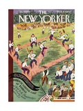 The New Yorker Cover - June 10, 1933 Regular Giclee Print by Harry Brown
