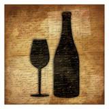 Wine Shadows B Prints by Jace Grey