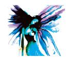 Fallen Blue Angel Giclee Print by Nicole Quattrocki